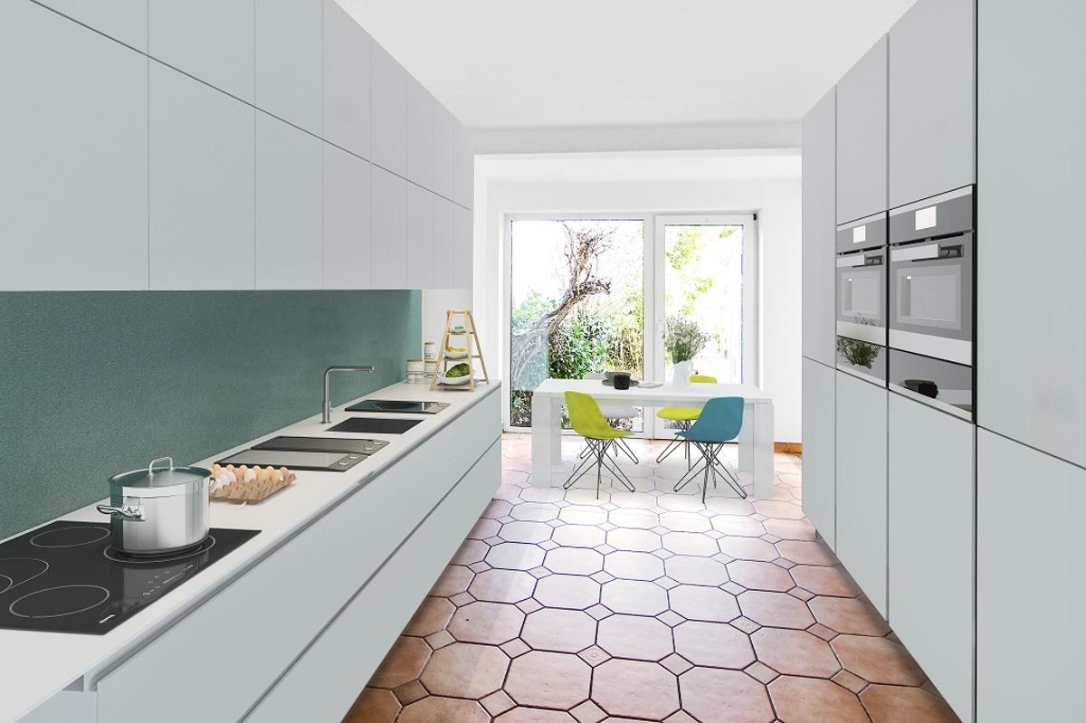 Erdgeschoss Küche (Architektenentwurf)