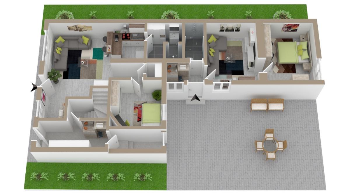 Möglicher Umbau auf 2 Wohneinheiten