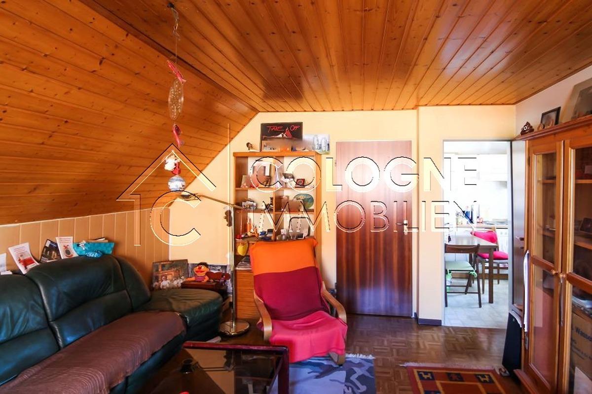Anbau: Wohnzimmer im OG