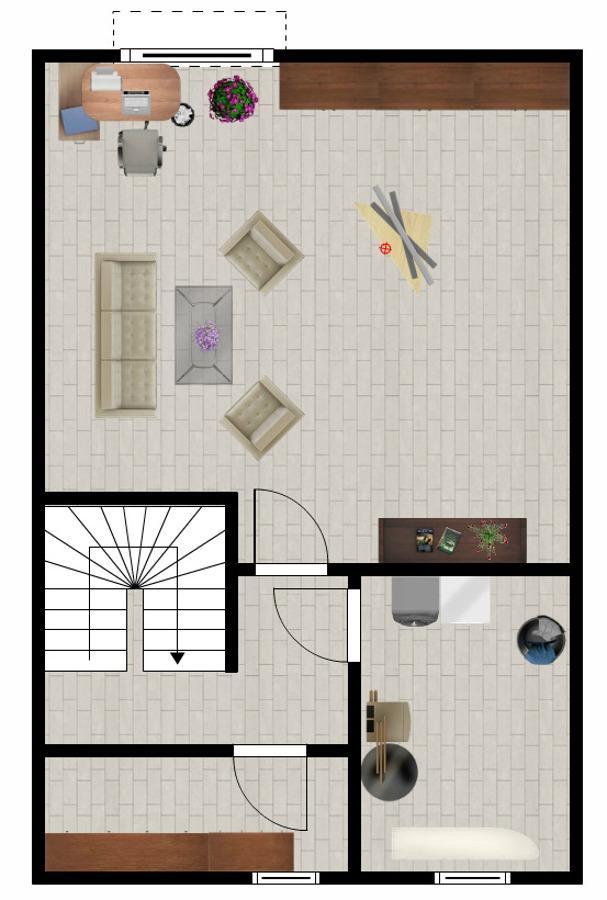Grundriss ausgebautes Kellergeschoss
