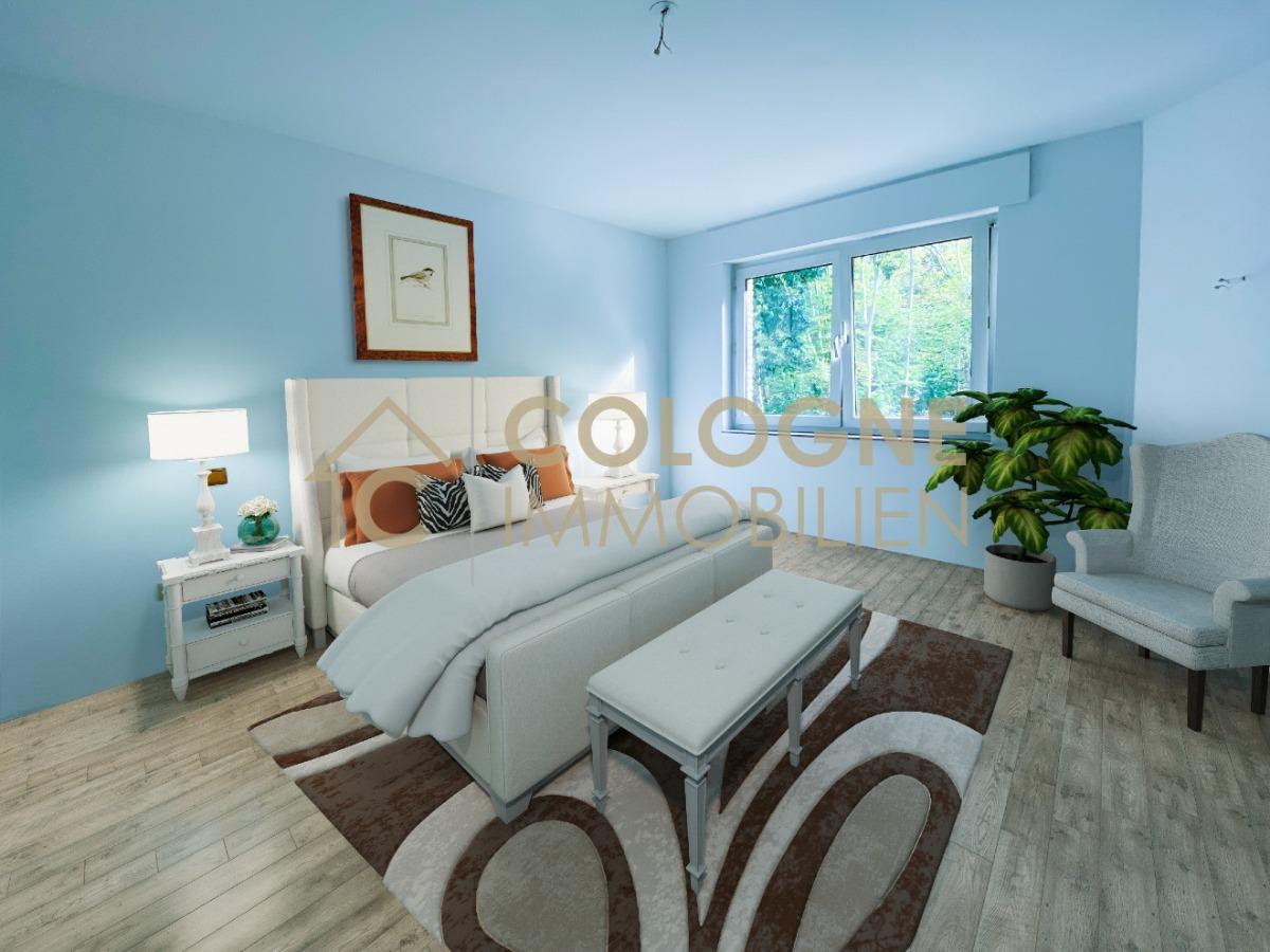Schlafzimmer (virtuell eingerichtet)
