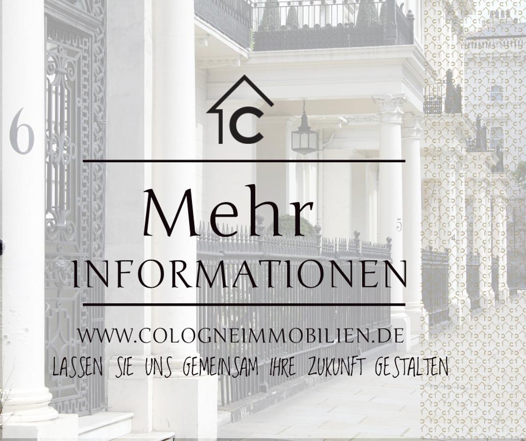 Weitere Bilder und Informationen finden Sie auf: www.cologneimmobilien.de