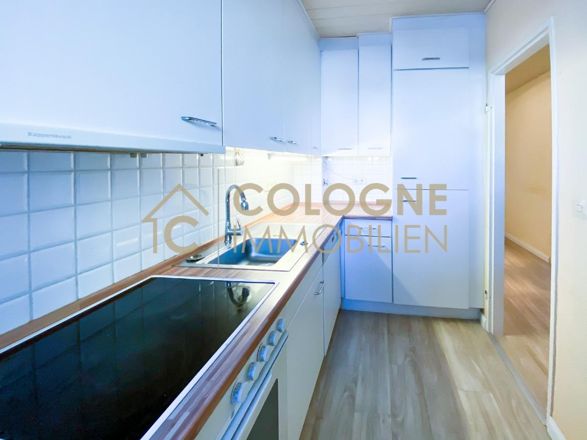 Küche mit einer Einbauküche