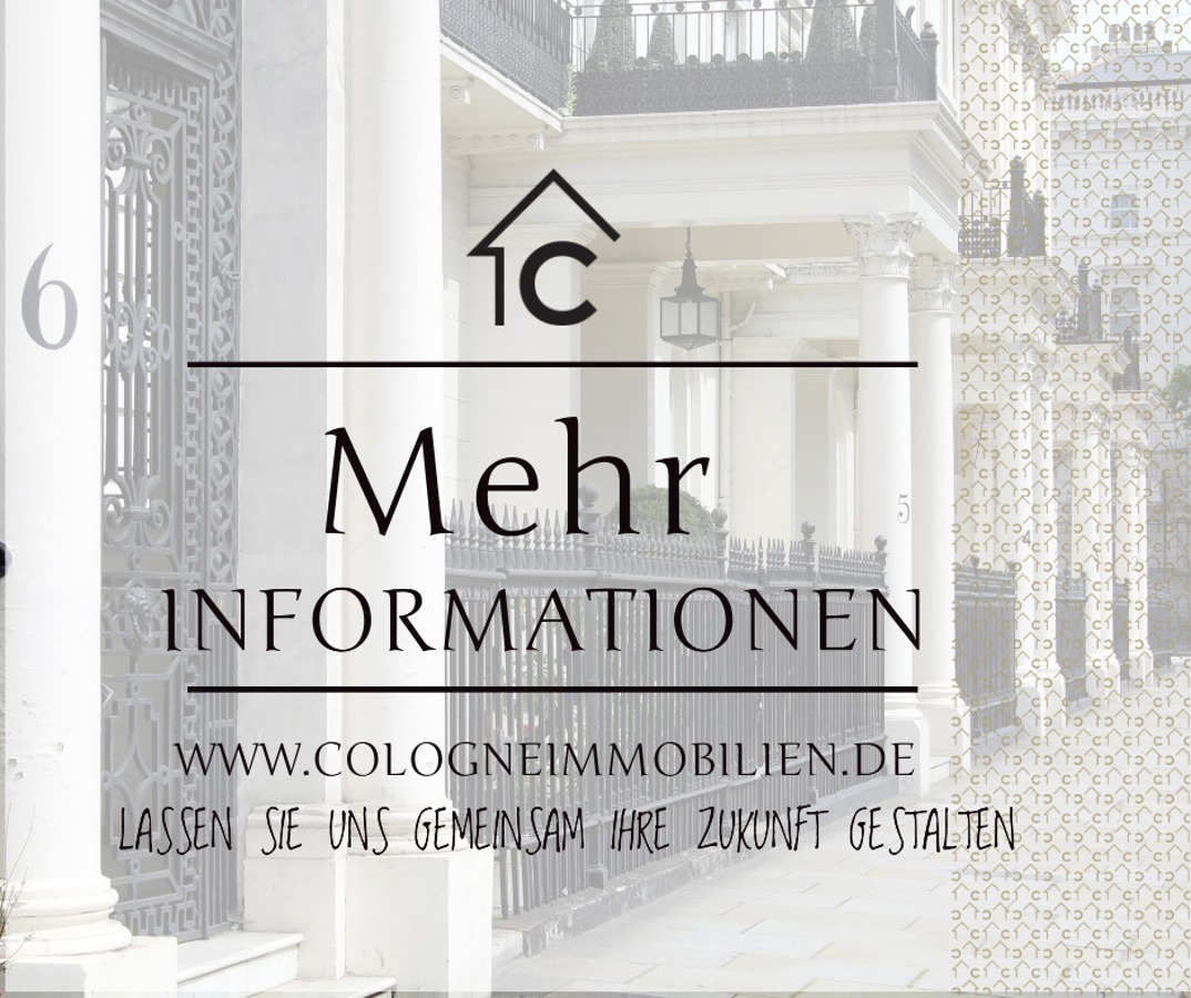 MEHR INFORMATIONEN AUF www.colongeimmobilien.de