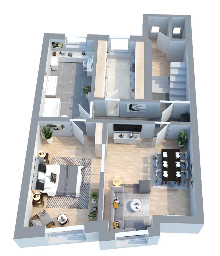 Grundriss: Obergeschoss
