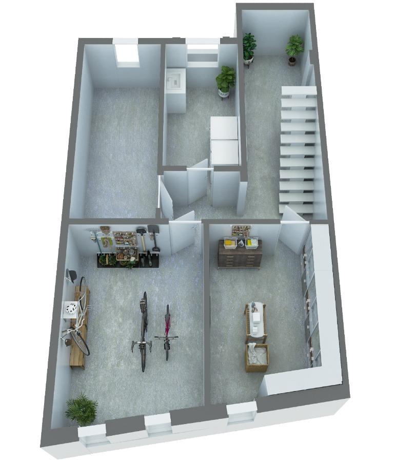 Grundriss: Kellergeschoss